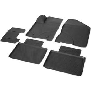 Коврики салона Rival для Lada Vesta седан, седан Cross, универсал, универсал Cross (2015-н.в.), полиуретан, 16006001