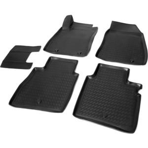 Коврики салона Rival для Nissan Sentra B17 седан (2014-2016), полиуретан, 14106001