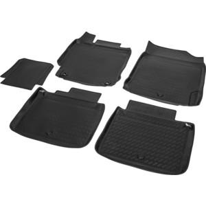 Коврики салона Rival для Toyota Camry XV50 рестайлинг седан (2014-2018), полиуретан, 15701002