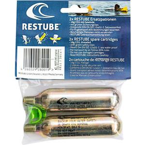 Баллоны с газом Restube Spare cartridges (2x) ft012 9 spare screw propeller fitting