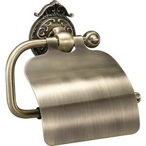 Держатель туалетной бумаги Hayta Gabriel Classic Bronze с крышкой (13903-4/BRONZE) бронза