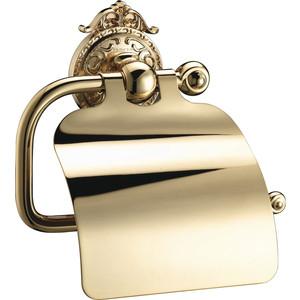 Держатель туалетной бумаги Hayta Gabriel Classic Gold с крышкой (13903-4/GOLD) золото стакан стекло hayta gabriel antic gold 13905 1 gold золото