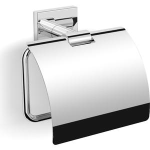 Держатель туалетной бумаги Langberger с крышкой, хром (11841X)