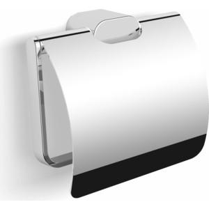 Держатель туалетной бумаги Langberger Lugano с крышкой, хром (24041A)