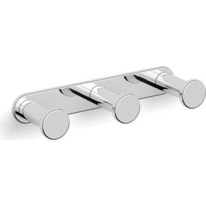 Планка с 3 крючками Langberger (28033A) хром