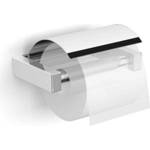Держатель туалетной бумаги Langberger Vico с крышкой, хром (30041A)