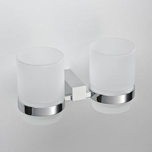 Стакан для ванны Schein Rembrandt двойной, хром (064)