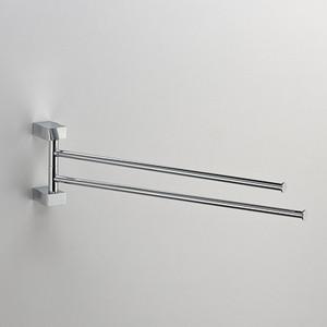 Полотенцедержатель поворотный Schein Swing двойной, хром (32824)