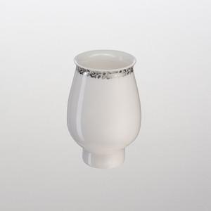 Запасной стакан для ванны Schein Carving керкамика, белый (5031010)