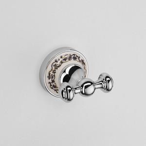 Крючок двойной Schein Saine Chrome (7053002) хром