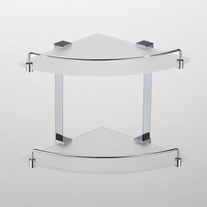 Полка стеклянная Schein Elite (7057055) хром