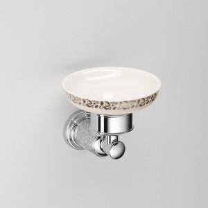 цена Мыльница Schein Carving керамика, хром (7065004) онлайн в 2017 году