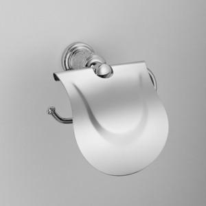 Держатель туалетной бумаги Schein Carving с крышкой, хром (7065026)