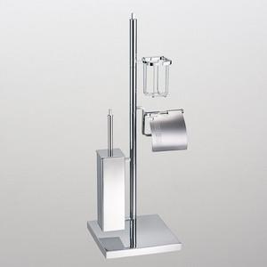 Стойка для туалета Schein (001H) хром
