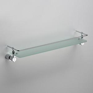 Полка стеклянная Schein хром (059B)