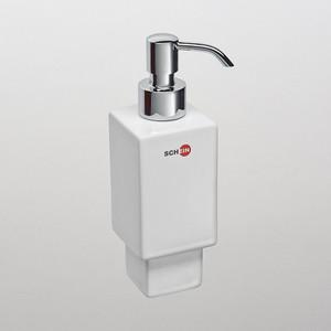 Дозатор для жидкого мыла Schein керамика, белый (05-S) дозатор д жидкого мыла primanova akik bej керамика бежевый