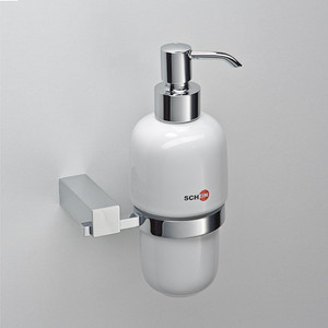 Дозатор для жидкого мыла Schein Rembrandt керамика, хром (062D) дозатор д жидкого мыла primanova akik bej керамика бежевый