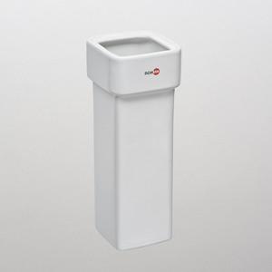 цена Запасная колба ершика для унитаза Schein Allom керамика, белая (07-SA) онлайн в 2017 году