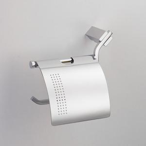 Держатель туалетной бумаги Schein Watteau с крышкой, хром (126B2-L) держатель для полотенец schein watteau 12811 хром