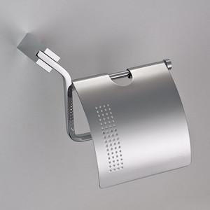 Держатель туалетной бумаги Schein Watteau с крышкой, хром (126B2-R) держатель для полотенец schein watteau 12811 хром