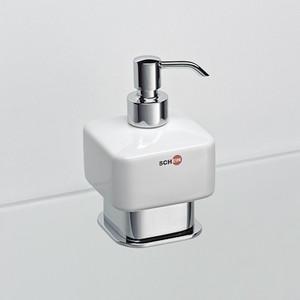 цена Дозатор для жидкого мыла Schein Allom (222DS-T) хром онлайн в 2017 году