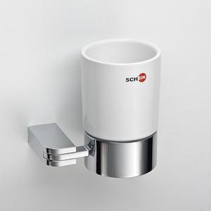 Стакан для ванны Schein Allom керамика, хром (223C)