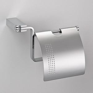 Держатель туалетной бумаги Schein Allom с крышкой, хром (226B-2)