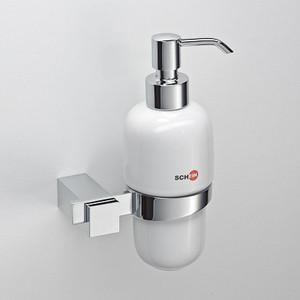Дозатор для жидкого мыла Schein Durer керамика, хром (262D) дозатор д жидкого мыла primanova akik bej керамика бежевый