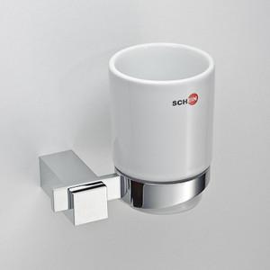 Стакан для ванны Schein Durer керамика, хром (263C-R)