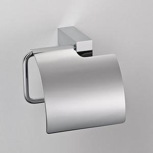 Держатель туалетной бумаги Schein Durer с крышкой, хром (266B2)