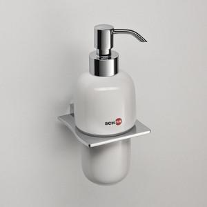 Дозатор для жидкого мыла Schein Swing керамика, хром (322D)