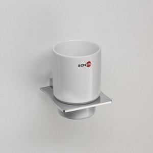 Стакан для ванны Schein Swing керамика, хром (323C)
