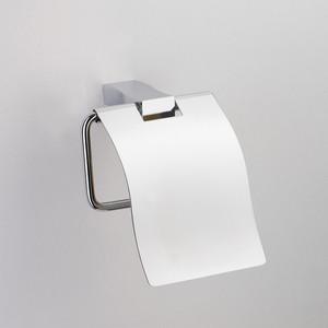 Держатель туалетной бумаги Schein Swing с крышкой, хром (326B)