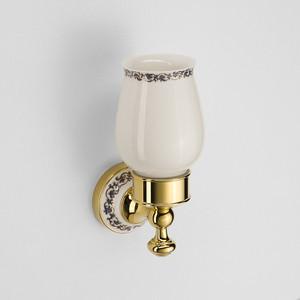 Стакан для ванны Schein Saine Gold керамика, золото (7053011VF)