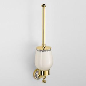 Ершик для унитаза Schein Saine Gold керамика, золото (7053031VF)