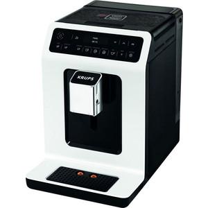 Кофемашина Krups EA890110 белый/черный кофемашина krups ea826 1450вт 1 8л черный