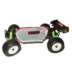 Polymotors Летний на липучках защитный чехол для радио модели RC HPI TROPHY TRUGGY FLUX 1/8 - PolyM-CovHPI05wt rc car frame hpi savage 1 8 xl flux rc cars roll cage hpi racing vehicles protection including wheelie bar