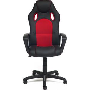 Кресло TetChair Racer кожзам/ткань черный/красный 36-6/08 стоимость