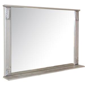 Зеркало с полкой Mixline Людвиг 105 патина серебро (2180805274856) тумба под раковину mixline крит 105 патина серебро элеганс 105 2405175330743