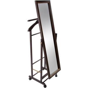цена Вешалка с зеркалом Мебель Импэкс Leset Сиэтл венге
