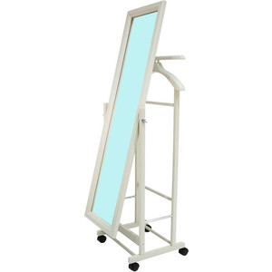 Вешалка с зеркалом Мебель Импэкс Leset Сиэтл белый