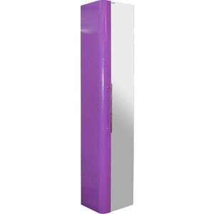 Пенал Mixline Ницца 30 фиолет подвесной (2210105262526) плитка для ванной ницца