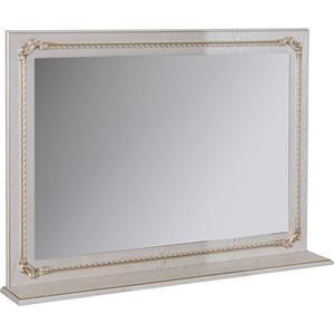 Зеркало с полкой Mixline Сальери 95 патина золото (2180805274863)