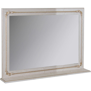 Зеркало Mixline Сальери 95 патина золото (2180805274863) тумба под раковину mixline сальери 95 патина золото дрея 95 2180805274887