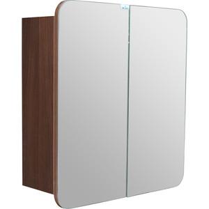 Зеркальный шкаф Mixline Того 60 бук шоколадный (2181105252568)