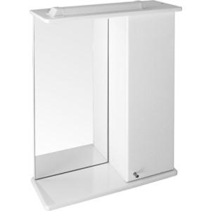 Зеркало-шкаф Mixline Бриз 50 белый правый (1705165298659) недорого