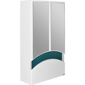 Зеркальный шкаф Mixline Радуга 46 зелёный (2130305224745) шкаф навесной mixline радуга 46 одуванчик белый 2131105280412