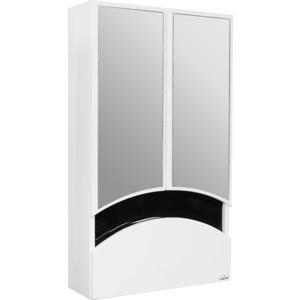 Зеркальный шкаф Mixline Радуга 46 чёрный (2130305224769) шкаф навесной mixline радуга 46 одуванчик белый 2131105280412