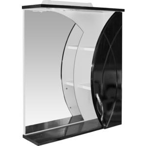 Зеркало-шкаф Mixline Магнолия 61 черный (2210105259274)