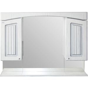 Зеркало-шкаф Mixline Крит 105 патина серебро (2405175331283) цены